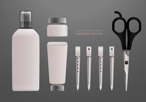 Realistische Salon-Werkzeuge und Ausrüstung vektor
