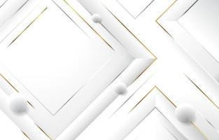 eleganter minimalistischer weißer Hintergrund vektor