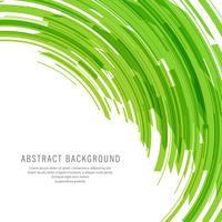 Moderne grüne Linien Technologie Hintergrund vektor