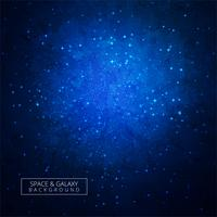 Bunter Hintergrundvektor des Galaxieuniversums vektor