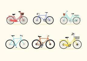 Bicicleta Fahrrad-Vektor-Paket