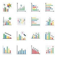 Business-Infografiken flach vektor