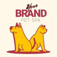 Haustier-Shop-Logo vektor
