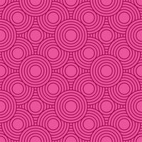 Abstrakter geometrischer Kreismusterhintergrund vektor