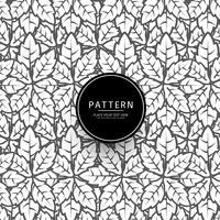 Abstrakte Blattmuster-Hintergrundillustration vektor