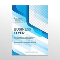 abstrakte Business Flyer Vorlage vektor