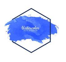 Eleganter Aquarellanschlag-Designvektor vektor
