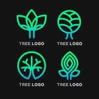 Baum-Logo-Elemente