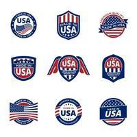 Qualitätsstandardprodukt von Amerika vektor