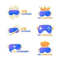 Virtual-Reality-Logo vektor