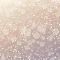 vit abstrakt suddig bakgrund med bokeh-effekt vektor