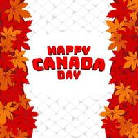 Kanada Tag feiern vektor