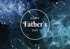 Vatertag Hintergrund mit Alkohol Tinte Design 0804 vektor