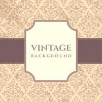 Vintage Hintergrundvorlage vektor