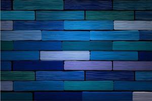 blauer Backsteinhintergrund vektor