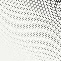 Halbton-Dreiecksmuster des abstrakten geometrischen Grafikdesigndrucks vektor