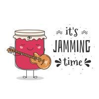 Es ist Jamming Time Vector