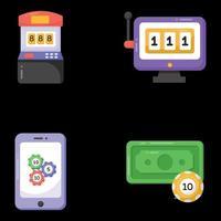 Online-Spiele und Poker vektor