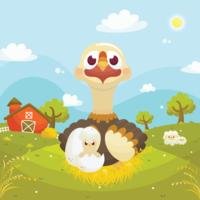 Tier Mutter und Baby Vektor