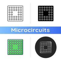 CPU-Sockel-Symbol vektor