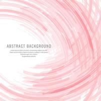 Abstrakte rosa Linien Wellenhintergrund
