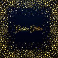 Vacker gyllene glitters glänsande bakgrund