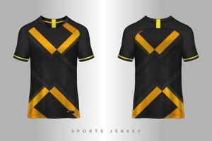 Fußball Trikot und T-Shirt Sport Modell Vorlage Grafikdesign für Fußball-Kit vektor