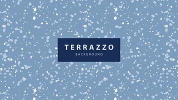 Terrazzo Bodentapete Hintergrund vektor