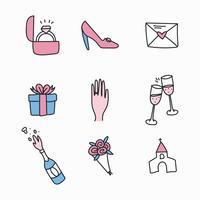 doodled Engagement Icons