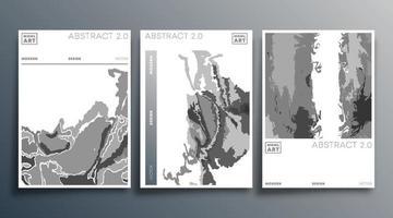 Minimales modernes Design-Set für Flyer Poster Broschüre Cover Hintergrund Tapete Typografie oder andere Druckprodukte Vektor-Illustration vektor