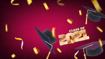 Klasse von 2021 vektor