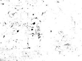 Rost und Schmutz überlagern Schwarz-Weiß-Textur vektor