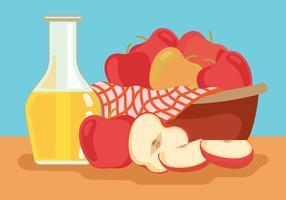 äppelcider slush vektor