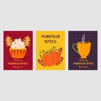 Pumpa Spice Vector Illustration