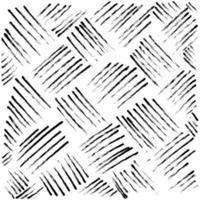 Hand gezeichnete Linie abstrakte Musterstriche Grunge Pinsel vektor
