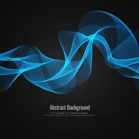 Abstrakt stilig vågbakgrund vektor
