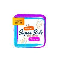 Abstrakt superförsäljning färgstark bakgrund