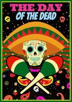 Dag av den döda illustrationen vektor