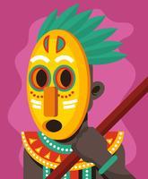 Indigene Menschen Illustration vektor