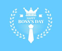 Schöne National Boss Day Set Vektoren