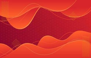 abstrakter roter Hintergrund vektor
