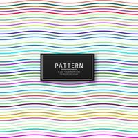 Elegante bunte Linien Muster Hintergrund