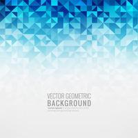 Abstrakter blauer geometrischer Hintergrundillustrationsvektor vektor