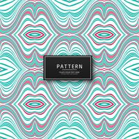 Geometrische bunte Linien Muster Hintergrund