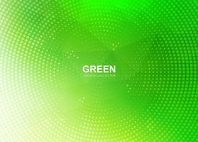 Moderne grüne Polygonhintergrundillustration vektor
