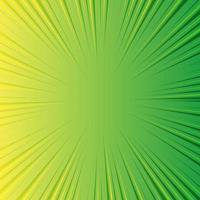 Zoomlinien auf Comic-Konzept mit grünem Hintergrund mit Kopierraum für Text vektor