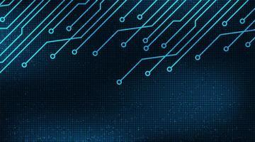 digitaler technologischer Hintergrund vektor