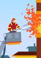 brandmän vektor