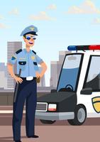 Polizist vektor