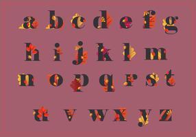 Höst Alfabet och Höst Säsong Illustration